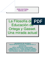 La filosofía de la educación de Ortega y Gasset.pdf