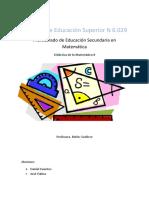 Didactica de la Matematica informe.docx