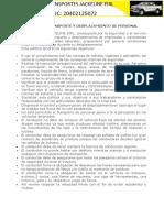 POLÍTICA DE TRANSPORTE Y DESPLAZAMIENTO DE PERSONAL.docx