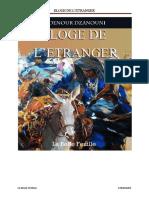 Eloge de Etranger 01092015