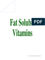 Fat Soluble Vitamins