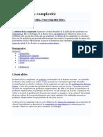 Théorie de la complexité.doc