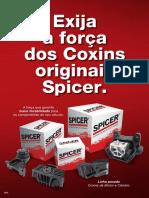 Spicer Catalogo Coxins de Motor e Cambio Veiculos Pesado 2019