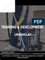 UrbanClap Training and Development