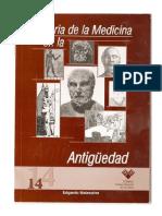 Manual de La Historia de La Medicina, Dr. Edgardo Malaspina
