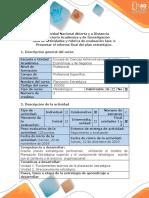 Guia de actividades y  rúbrica de evaluación fase 4  presentar el informe final del Plan Estratégico (1).docx