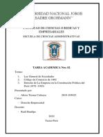 Ley General de Sociedades 2
