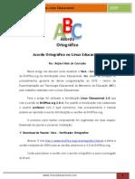 Acordo Ortografico No Linux Educacional