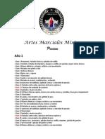 Clases Personalizadas Artes Marciales