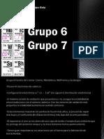 Grupos Quimicos 6 y 7