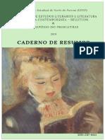 2019 - Sellitcon - Caderno de Resumos