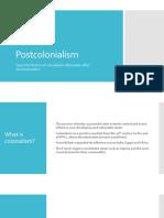 Postcolonialism Presentation
