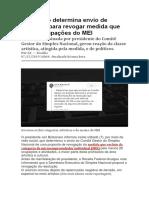 Bolsonaro determina envio de proposta para revogar medida que exclui ocupações do MEI.docx