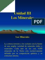 Minerales, En Gral