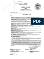 Jersey City Ordinance Banning Natural Gas Pipelines in Certain Development Zones