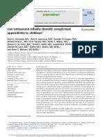 apendicitis sciencedirect
