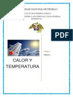 Informe-calor y Temperatura