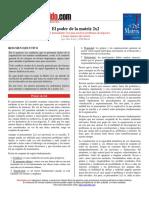 [PD] Libros - El poder de la Matriz 2x2.pdf