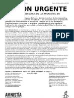 Accion Urgente Alberto Donis