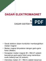 Kuliah II - DASAR_ELEKTROMAGNET.ppt
