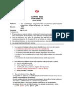 Examen Parcial Geriatria 2018-1