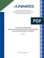 eletrocoagulação no tratamento de laticinios.pdf