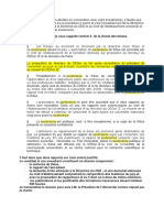 Procedure Soutenance