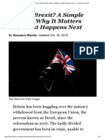 Brexit - Why It Matters n What Happens Next - NYT