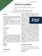 Conservas en almibar Tecnologia de Alimentos.doc