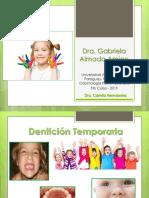 DENTICION TEMPORARIA CLASE 2019.pptx