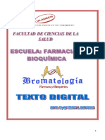 Texto Digital de Bromatología 2015-II