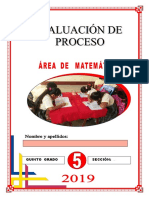 MATEMATICA 5to EVALUACION DE PROCESO.pdf