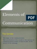 elem of communication