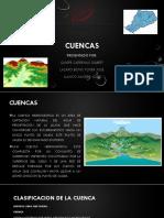 CUENCAS – CAUDALES MAXIMOS  Y MINIMOS.pptx