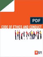 Código Ética UK 2018