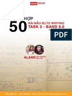 IELTS BAND 9.0 WRITING
