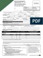 Santo Tomas Scholarship Application Form