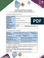 Guía de actividad y rúbrica de evaluación - Paso 1 Participar en el foro No hay preguntas estúpidas.docx