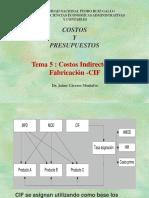 5. Costos y Presupuestos CIF.ppt