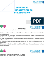 LESSON 2 - INTRODUCTION TO PHLEBOTOMY lec-converted