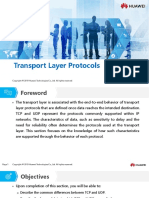 HC110110006 Transport Layer Protocols