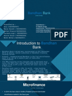 case study Bandhan Bank