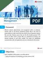 HC110110011 VRP Operating System Image Management