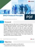 HC110110018 DHCP Protocol Principles