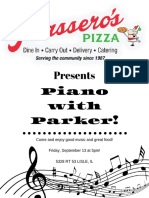 piano with parker!