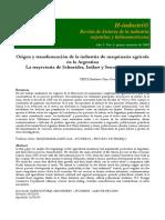 Damián Bil - Origen y transformación de la industria de maquinaria agrícola en la Argentina. La trayectoria de Schneider, Istilart y Senor hasta 1940.pdf