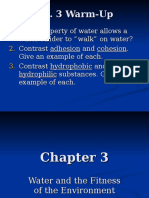 The Properties of Water Ch 3 2019