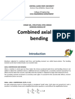 Module 7-Combined Axial and Bending