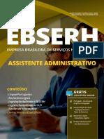 Apostila Assistente Administrativo - Ebserh 2019.pdf