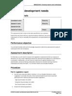 BSBLED401 Assessment Task 1